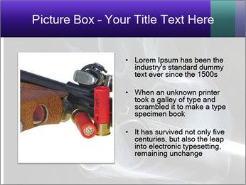 Shotgun PowerPoint Template - Slide 13