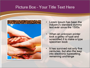 Many hands PowerPoint Template - Slide 13