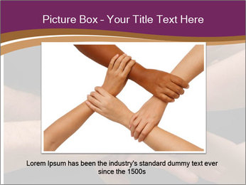 Many hands PowerPoint Template - Slide 15