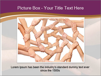 Many hands PowerPoint Template - Slide 16