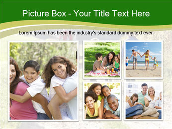 Young family walking PowerPoint Template - Slide 19