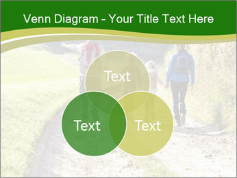Young family walking PowerPoint Template - Slide 33