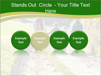 Young family walking PowerPoint Template - Slide 76