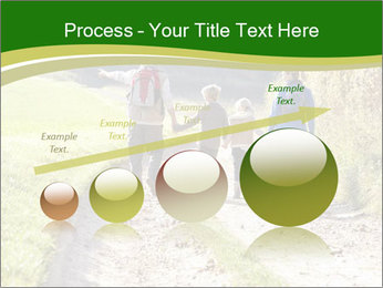 Young family walking PowerPoint Template - Slide 87