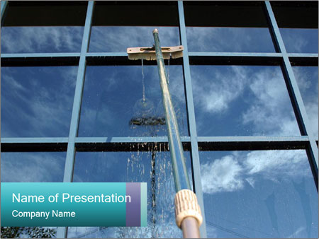 Window Washing PowerPoint Templates