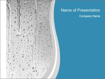 Rain drops PowerPoint Templates - Slide 1