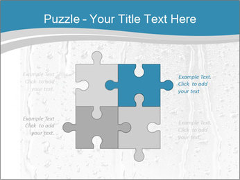 Rain drops PowerPoint Templates - Slide 43
