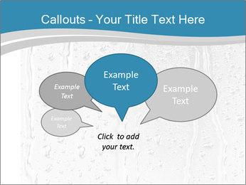 Rain drops PowerPoint Templates - Slide 73