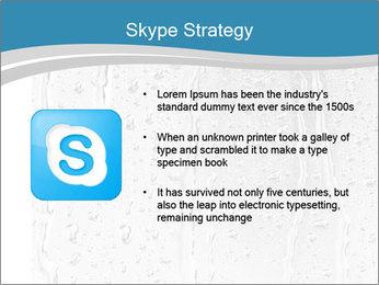 Rain drops PowerPoint Templates - Slide 8