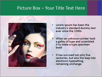 Queen of hearts PowerPoint Template - Slide 13