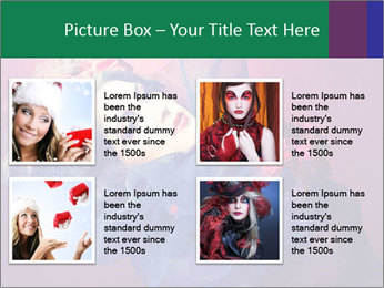 Queen of hearts PowerPoint Template - Slide 14
