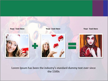 Queen of hearts PowerPoint Template - Slide 22