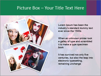 Queen of hearts PowerPoint Template - Slide 23