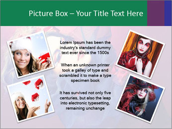 Queen of hearts PowerPoint Template - Slide 24