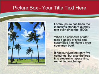 Tropical beach PowerPoint Template - Slide 13