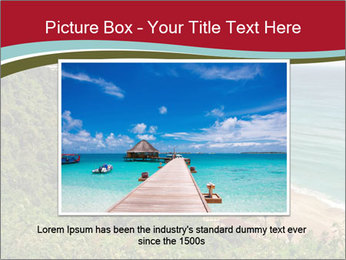 Tropical beach PowerPoint Template - Slide 15