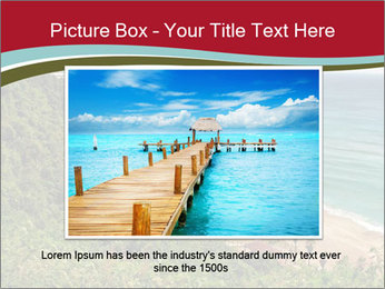 Tropical beach PowerPoint Template - Slide 16
