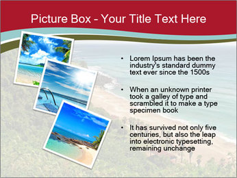 Tropical beach PowerPoint Template - Slide 17