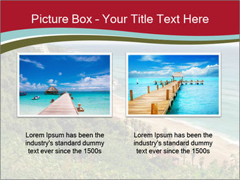 Tropical beach PowerPoint Template - Slide 18