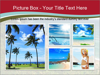 Tropical beach PowerPoint Template - Slide 19