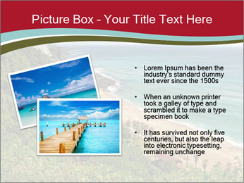 Tropical beach PowerPoint Template - Slide 20