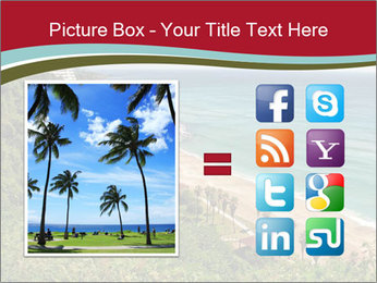 Tropical beach PowerPoint Template - Slide 21