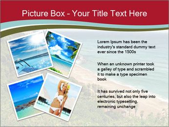 Tropical beach PowerPoint Template - Slide 23