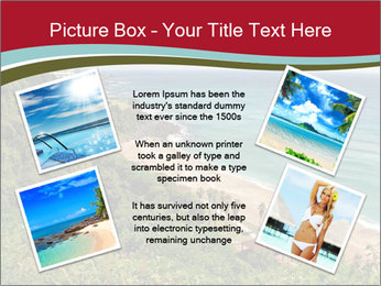 Tropical beach PowerPoint Template - Slide 24