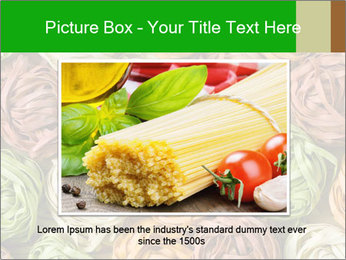 Colorful pasta tagliatelle PowerPoint Templates - Slide 15