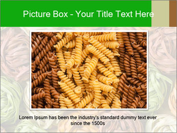 Colorful pasta tagliatelle PowerPoint Templates - Slide 16