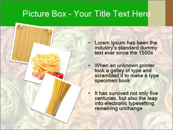 Colorful pasta tagliatelle PowerPoint Templates - Slide 17