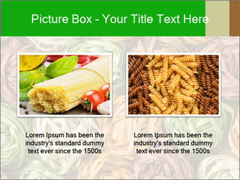 Colorful pasta tagliatelle PowerPoint Templates - Slide 18