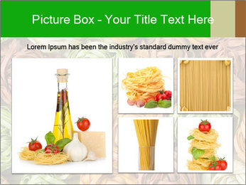 Colorful pasta tagliatelle PowerPoint Templates - Slide 19