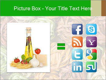 Colorful pasta tagliatelle PowerPoint Templates - Slide 21