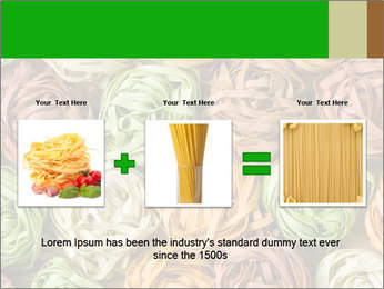 Colorful pasta tagliatelle PowerPoint Templates - Slide 22