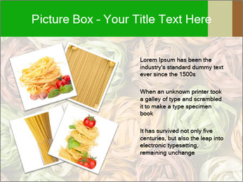 Colorful pasta tagliatelle PowerPoint Templates - Slide 23