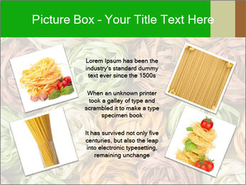 Colorful pasta tagliatelle PowerPoint Templates - Slide 24