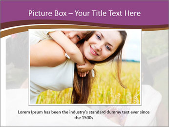 A young mother PowerPoint Template - Slide 15