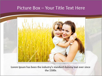 A young mother PowerPoint Template - Slide 16