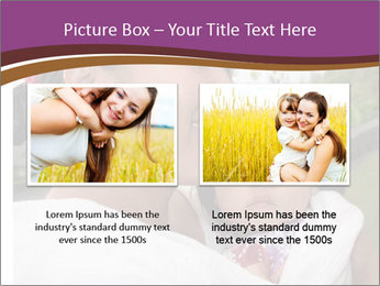 A young mother PowerPoint Template - Slide 18