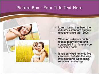 A young mother PowerPoint Template - Slide 20