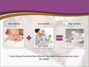 A young mother PowerPoint Template - Slide 22