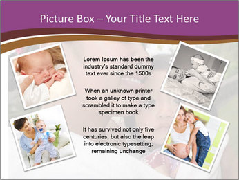 A young mother PowerPoint Template - Slide 24