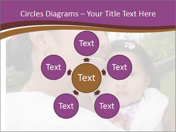 A young mother PowerPoint Template - Slide 78