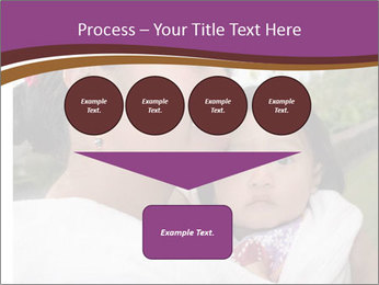 A young mother PowerPoint Template - Slide 93