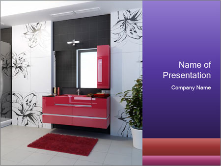 Modern furniture PowerPoint Templates