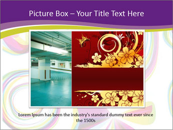 Abstract futuristic PowerPoint Template - Slide 15