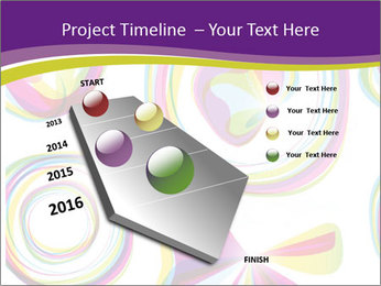Abstract futuristic PowerPoint Template - Slide 26