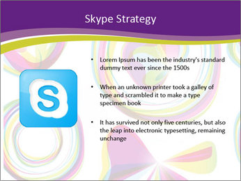 Abstract futuristic PowerPoint Template - Slide 8