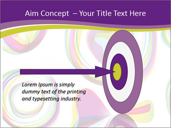 Abstract futuristic PowerPoint Template - Slide 83